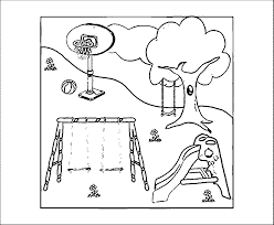 playground color by number page max playground coloring page