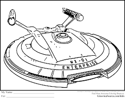 starship enterprise clipart 69