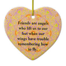shaped friendship quotes ceramic decorations shaped