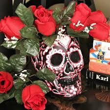sugar skull vase how to a vase pot or planter decorating
