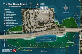 Florida Spring Training Map by Blue Heron Bridge Scuba The Best Shore Diving In The Americas