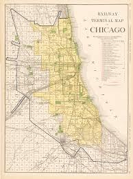 Chicago Neighborhoods Map Cta Chicago Transit Map 1948 Chicago Transit Map Showing Flickr