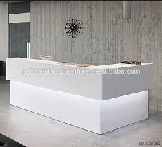 Standing Reception Desk Prefab Modern White Ligthed Standing Reception Desk Buy Standing
