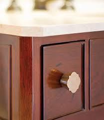 quatrafoil cabinet knob 1 1 2