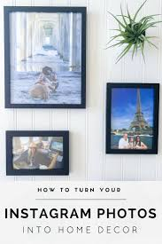 how to turn instagram photos into home decor la jolla mom