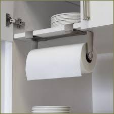 kitchen towel holder ideas cabinet paper towel holder black in simple metal paper towel