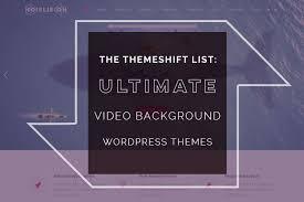 wp themes video background 25 impressive video background wordpress themes 2018