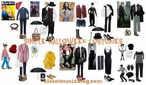 closet remix remix it simple halloween costumes in your closet