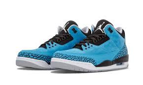 powder blue air jordan 3 powder blue 136064 406 2014 release sneaker bar detroit