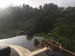 a week in bali things to do and see living life crazy the hanging gardens of bali is famous for it s two story infinity pool the entire resort is made up of small villas with private pools along the side of