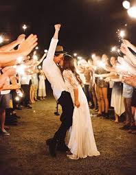 sparklers for weddings 15 epic wedding sparkler sendoffs that will light up any wedding