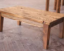 Solid Wood Coffee Tables Farmhouse Coffee Table Rustic Coffee Table Solid Wood