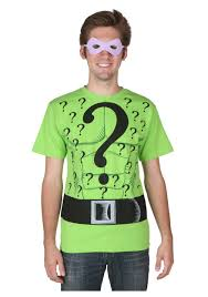 Halloween Shirt Costumes Riddler T Shirt