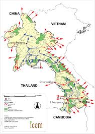 Laos World Map by Protected Area Review U003e Lao Pdr U003e Map Of Protected Areas