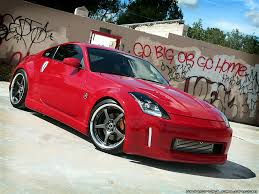 red nissan 350z modified post up your best 350z desktop wallpaper page 3 my350z com