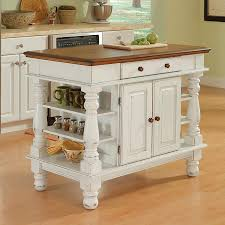 Kitchen Island Com by Shop Home Styles White Farmhouse Kitchen Island At Lowes Com