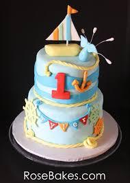 nautical cake behance