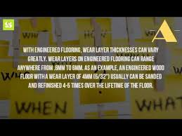how should engineered wood flooring be