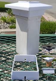 4x4 solar post lights solar deck post lights 4x4 white 4 smd soft white led set of 2