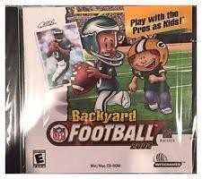 Wii Backyard Football by Backyard Football Pc Video Games Ebay