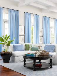 beautiful decoration blue living room curtains valuable