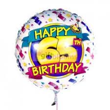 balloon delivery uk 4 happy 65th birthday balloon balloon delivery uk balloon