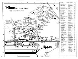 afb map maps minot air base the minot afb ufo 24 october 1968