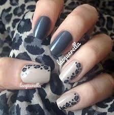 26 diseños de uñas de color gris gray polish white polish and