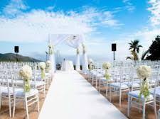 white aisle runner white wedding aisle runners ebay