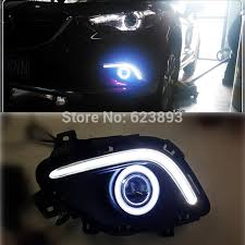 led lights for cars store free shipping 2x led daytime running lights car styling drl fog
