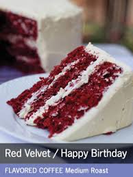 coffee 12 oz red velvet birthday cake flavored coffee