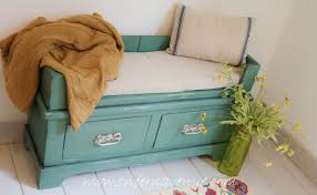 turning a bookcase into a bench using old fashioned milk paint