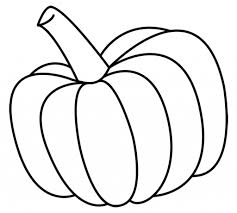 simple pumpkin drawing pumpkins coloring pages free coloring pages