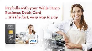 Wells Fargo Design Card Pay Business Bills With Your Wells Fargo Debit Card U2013 Video