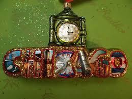christopher radko chicago ornament ebay