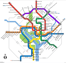 the metro map will the purple line appear on the metro map