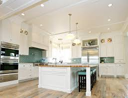 Green Tile Kitchen Backsplash Kitchen Style Contemporary Minimalist Luxury Coastal Kitchen