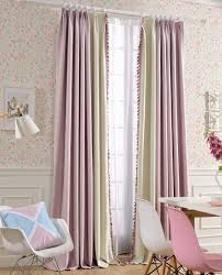 Kid Blackout Curtains Melodieux Sweety Lace Thermal Insulated Blackout Curtains For