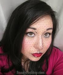 halloween makeup mac beautypopstop halloween pop art lichtenstein inspired makeup look