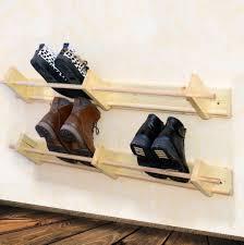 shoe rack for closet wall home design ideas