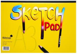 silvine sketch pad a4 and a3 size antoniou copy center