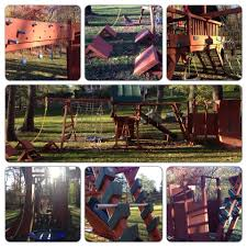 transforming a playset into an american ninja warrior obstacle