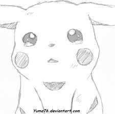 crying pikachu sketch by yuma76 on deviantart