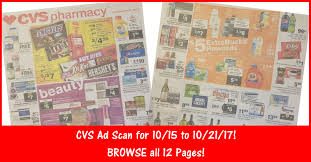 cvs black friday 2017 cvs weekly ad scan 10 15 17 10 21 17 cvs ad preview