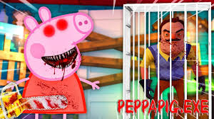minecraft neighbor evil peppa pig exe kidnapped