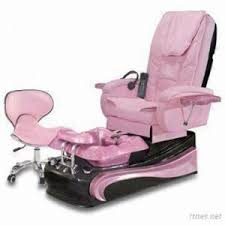 luxury pink pedicure massage spa nail chair foot care chair pink
