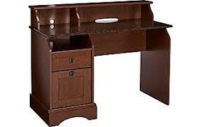 sauder 420606 palladia l desk vo a2 computer vintage oak work tables by sauder now shop at usd 49 97 stylight