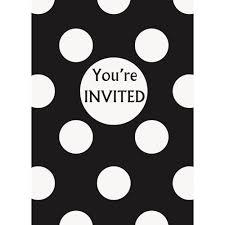 party invitations 8 pack walmart com