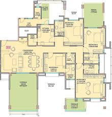 home design square foot house plans sq ft bhk 5t apartment for