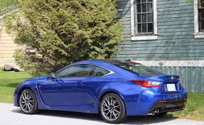 lexus rc f vancouver in photos 2015 lexus rc f inside and out the globe and mail